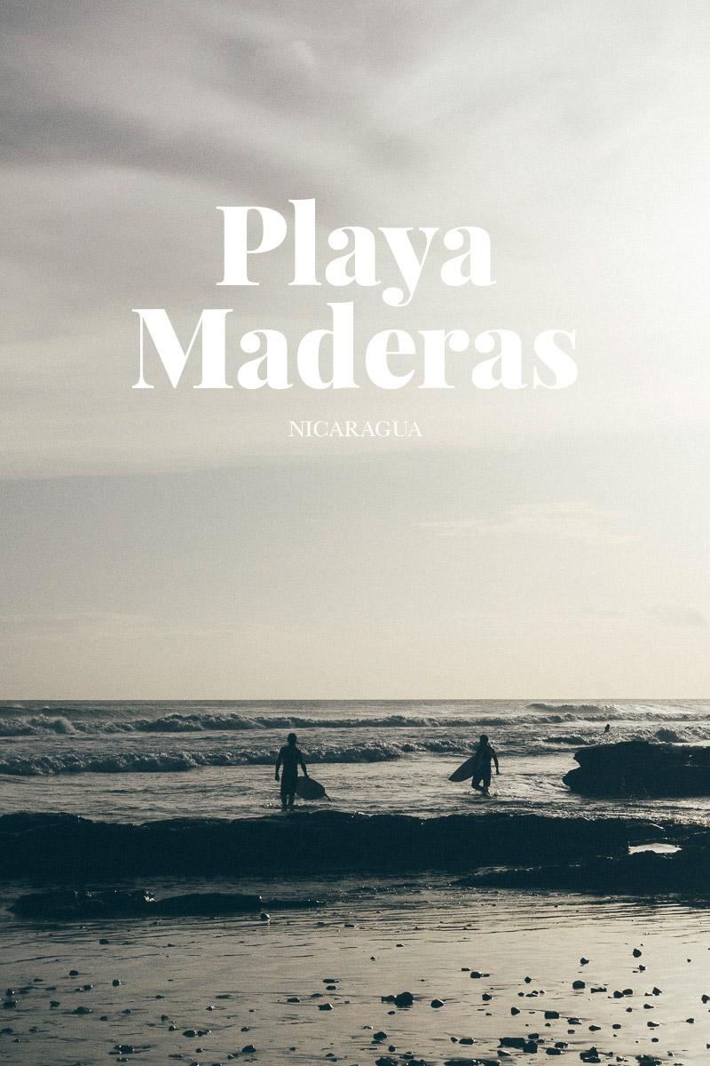 surf playa maderas nicaragua