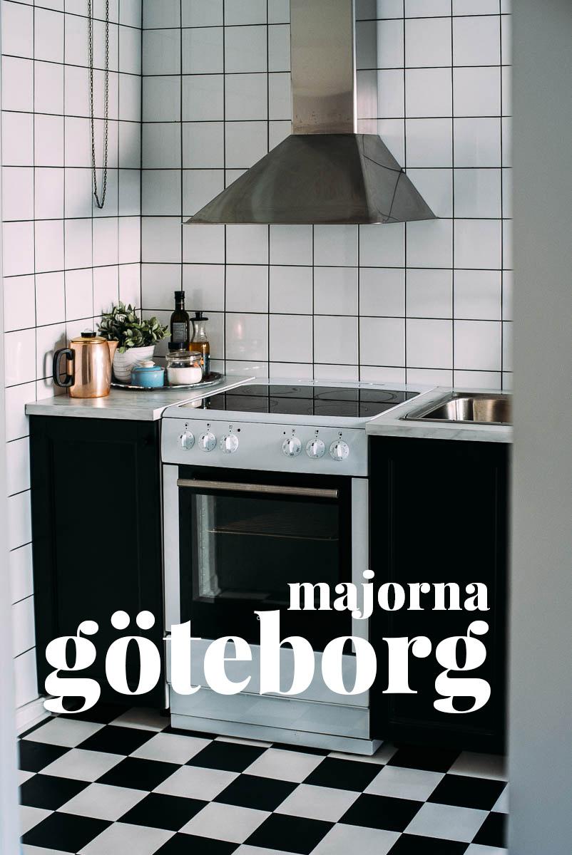 Airbnb lägenhet i Majorna Göteborg