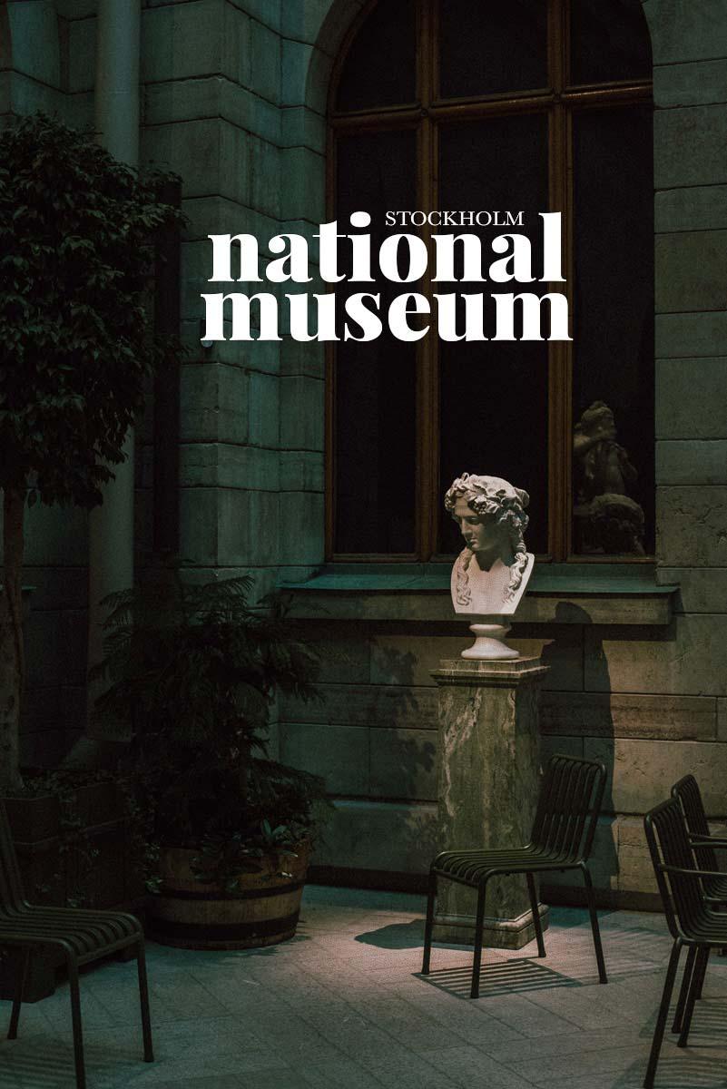 Tips på saker att göra i Stockholm en regnig dag, besök skulpturparken i Nationalmuseum.