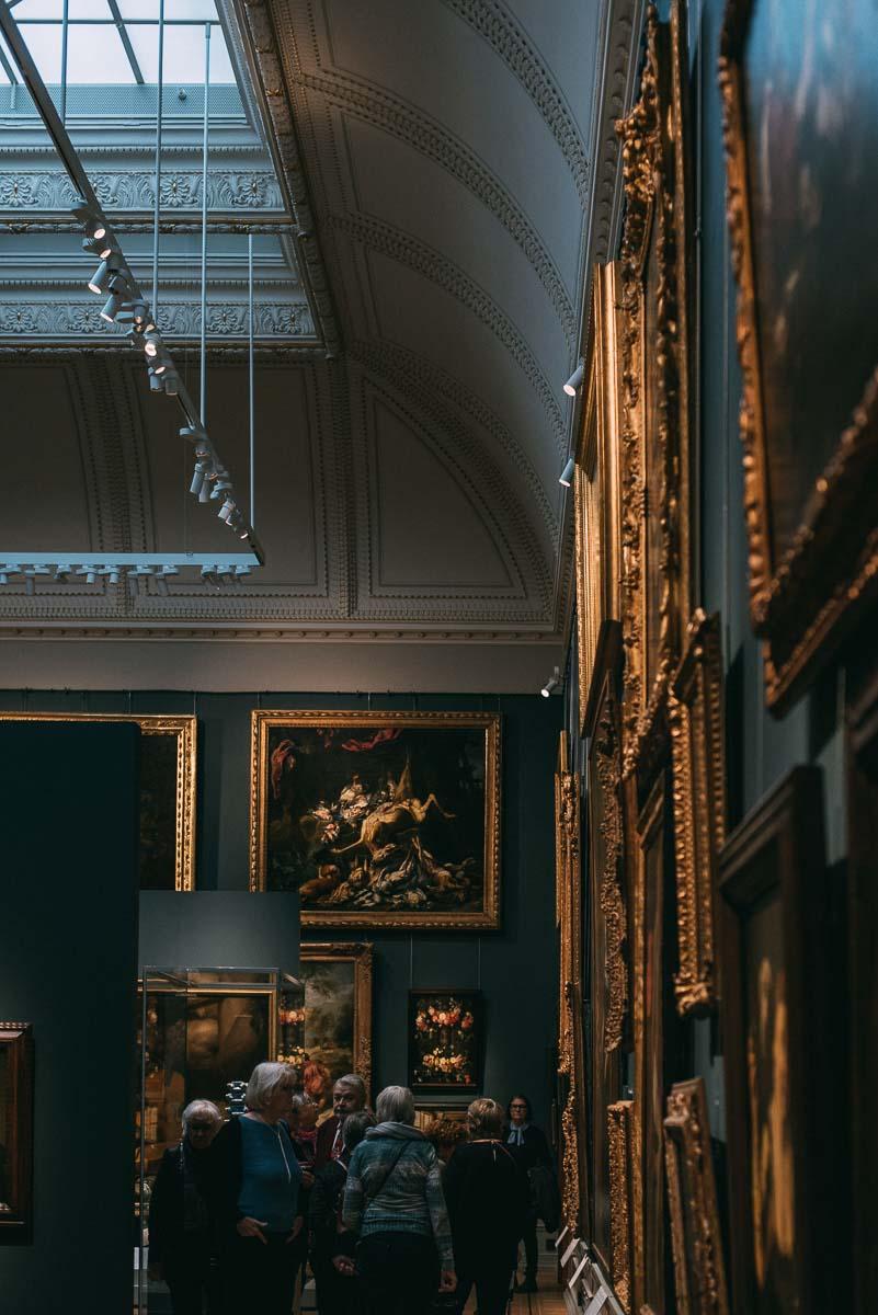 Tips på saker att göra i Stockholm en regnig dag, besök Nationalmuseum.
