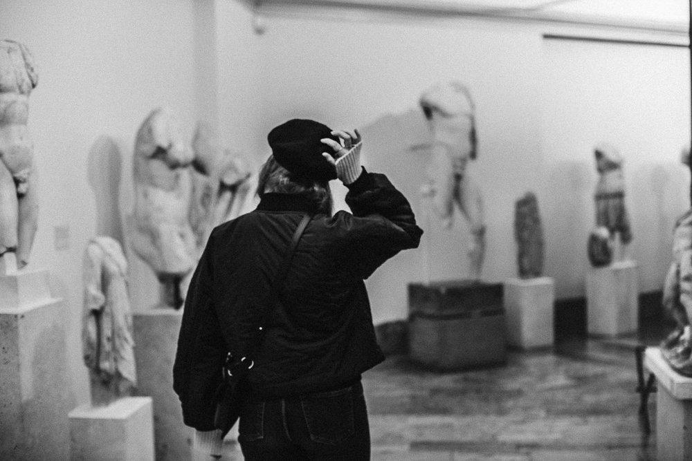 Skulpturer på Millesgården Lidingö
