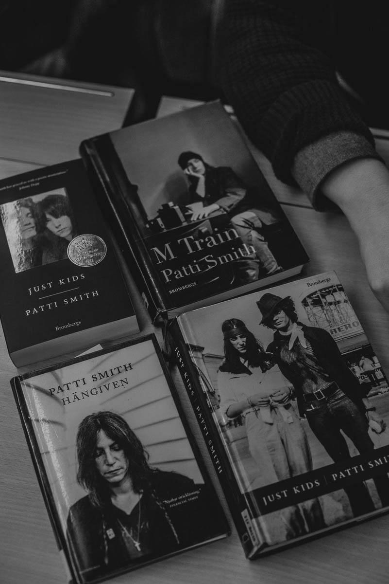 patti smiths böcker