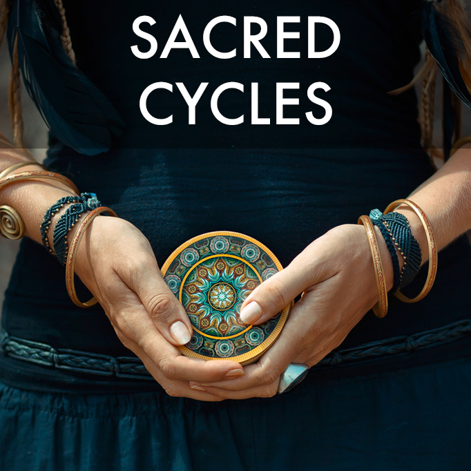 A twelve-month program of menstrual literacy and healing with optional shamanic track. Also explores our deeper connections to nature's rhythms.