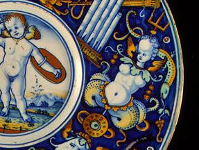 Maiolica Plate Detail 2