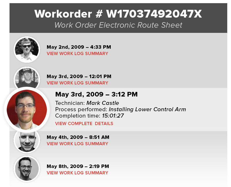 work order documentation software