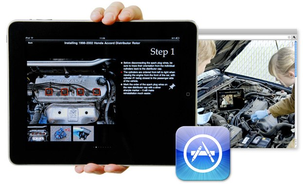 auto repair guide mobile app
