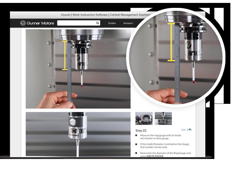 Hören Sie auf, Nutzer mit langen Textabsätzen zu überfordern und verwirren. Um die ordnungsgemäße Einhaltung Ihrer Abläufe zu gewährleisten, setzen Sie stattdessen auf reichhaltiges Bildmaterial, Foto-Markups, Videos und Schritt-für-Schritt-Formatierungen.