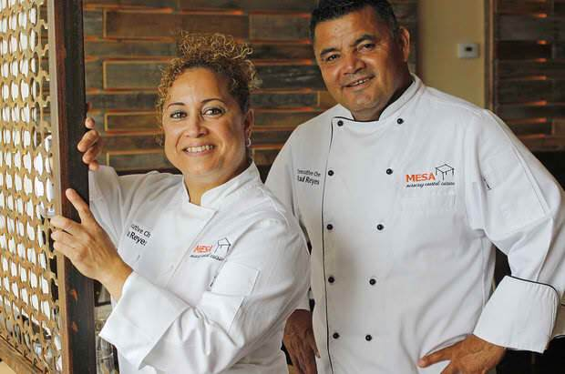 Chef-Owners Olga and Raul Reyes of Mesa