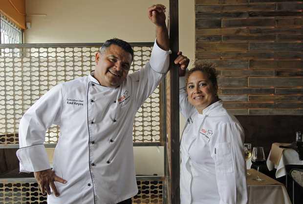 Chef Raul & Olga Reyes