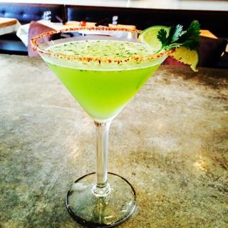Cilantro Mexican Martini