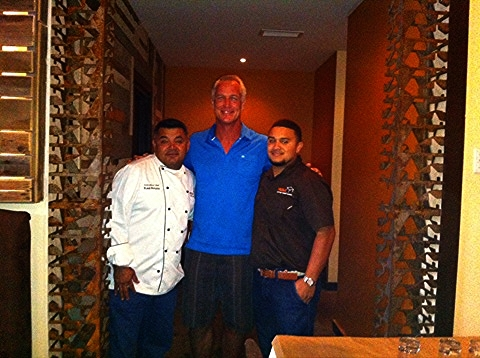 "Daryl ""The Moose Johnson, Chef Raul & Raul Jr."