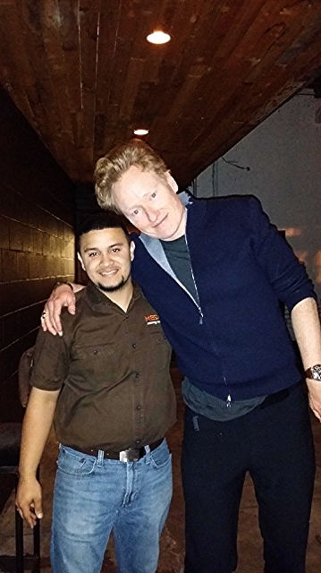 Conan O'brien & Raul Jr.