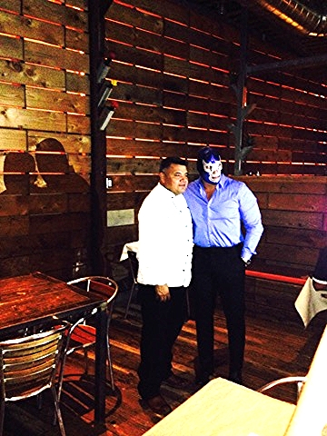 Chef Raul & Blue Demon Jr.