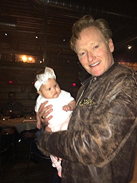 Conan O'Brien & Isabella Reyes