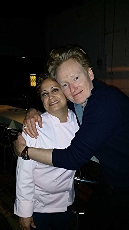 Conan O' Brien & Chef Olga