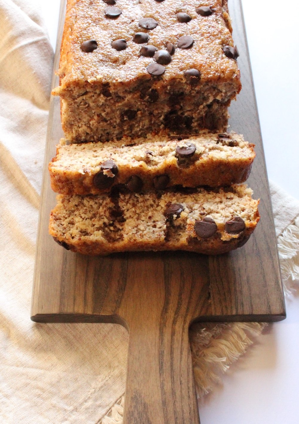 Chocolate Chip Banana Bread Gluten & Dairy-Free