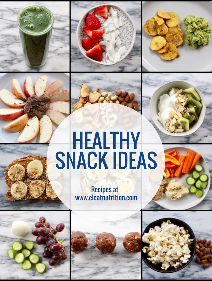 Healthy Snacks - Eleat Sports Nutrition