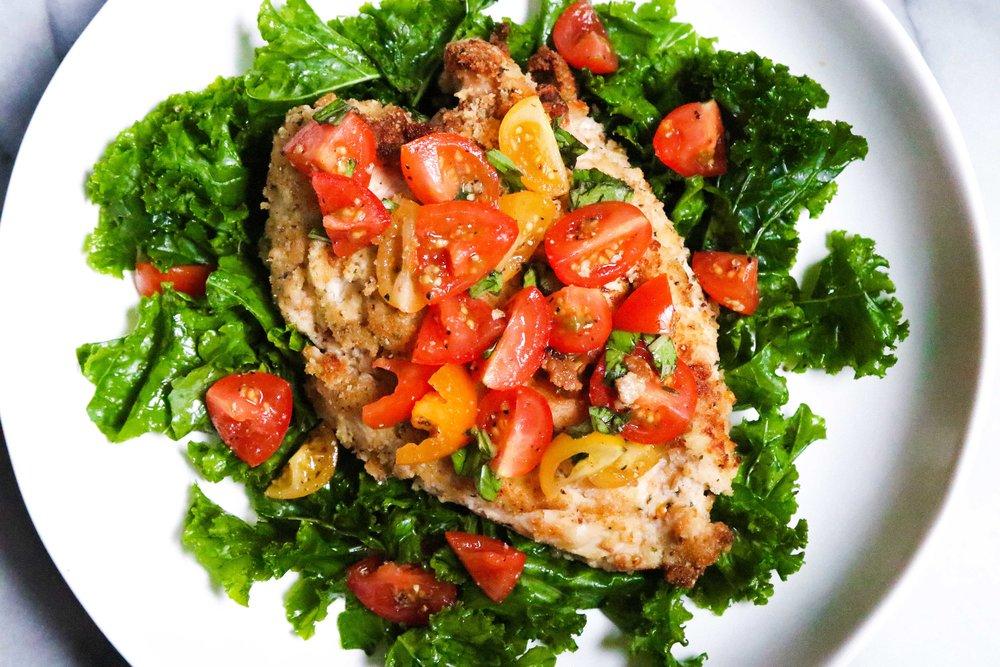 Chicken Bruschetta Eleat Nutrition