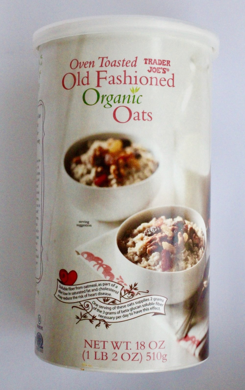 2. Old Fashioned Oats - I have oatmeal almost every single morning for breakfast, and these are my go-to old fashioned oats! While I'm not gluten-free, I love how many options they have, along with a whole list of GF products available on their website!