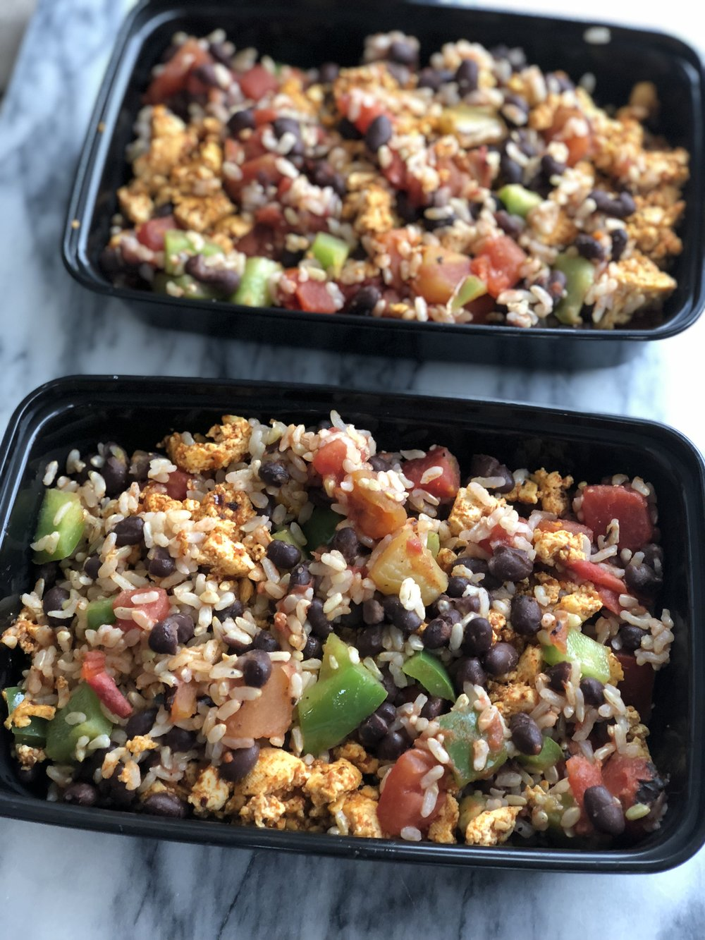 Meal Prep Burrito Bowl Eleat Nutrition