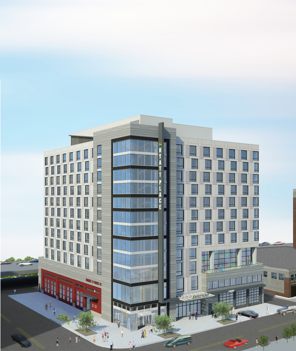 400 E Street SW (rendering of final project)