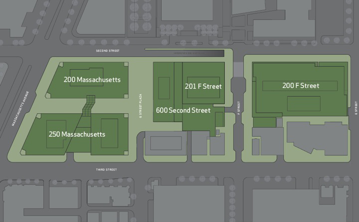 Capitol Crossing: site plan
