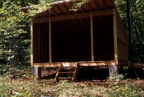 Adirondack camping shelters