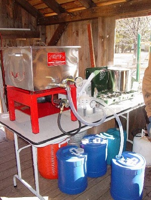 maple sugaring program