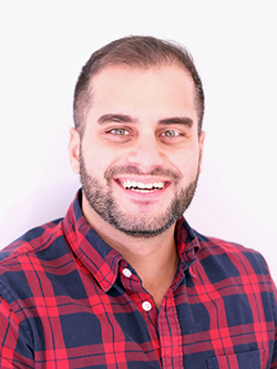 """""""Exact Media is a great place to work because of the vibrancy of the office. All of my co-workers are incredibly intelligent, hard working, and compassionate."""" /ALEX BEHESHTI"""