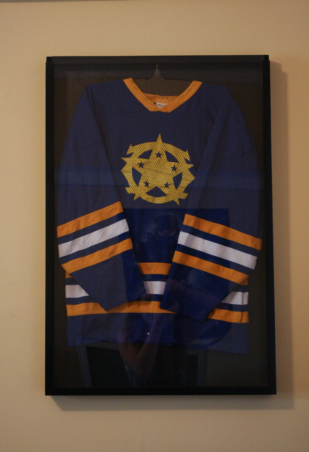 Blue Colonial Hockey Jersey, early 2000s