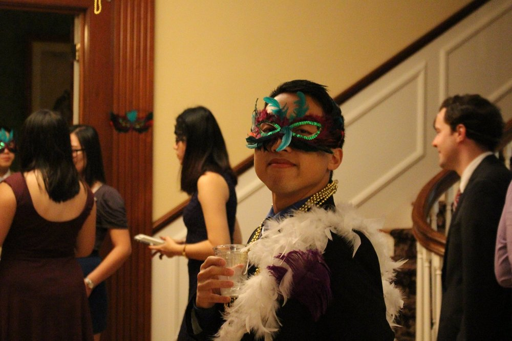 Masquerade Semiformal  October 2016