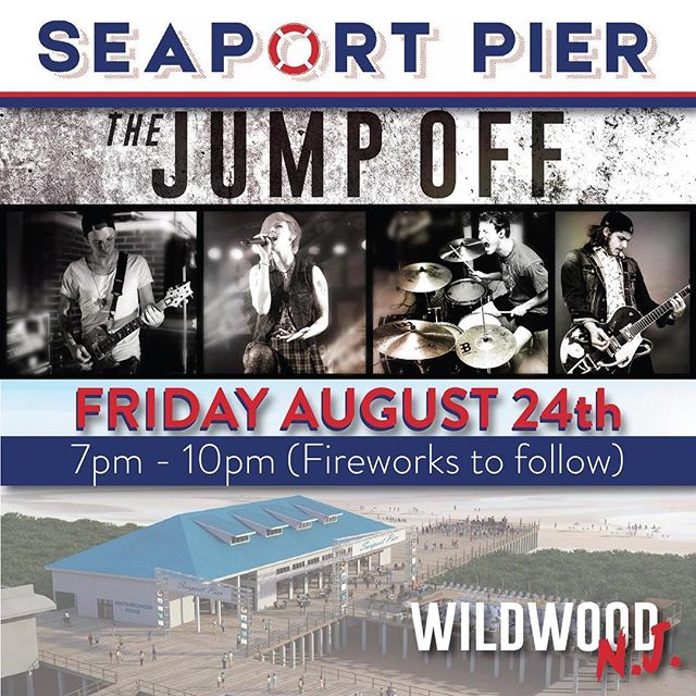 This Friday you can find us in Wildwood at @seaportpier for the very first time!! Come on out and say hi!!!!