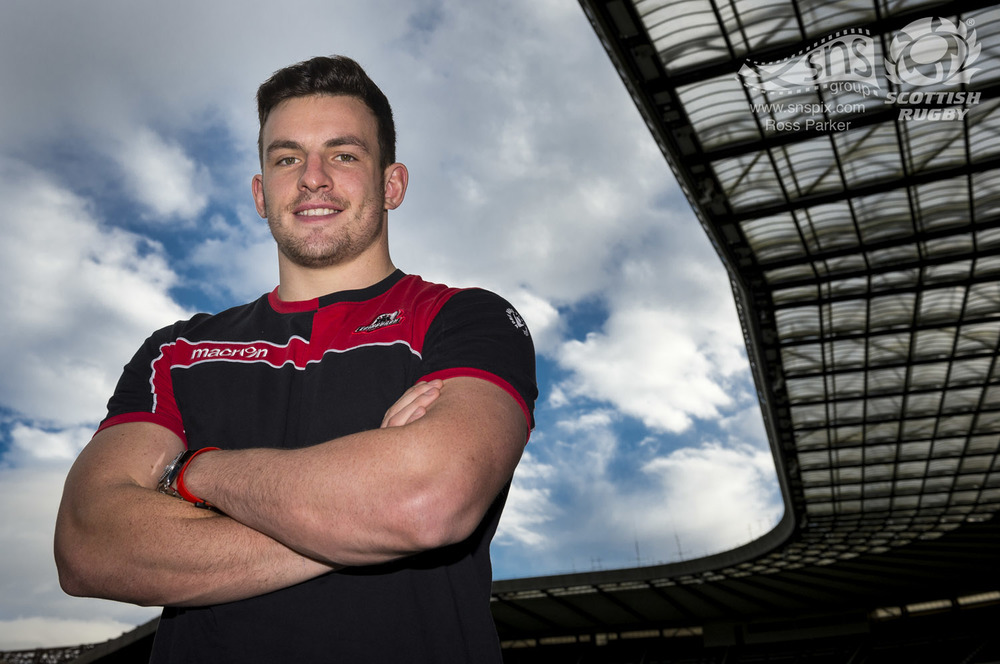 Matt Scott of Edinburgh Rugby & Scotland.