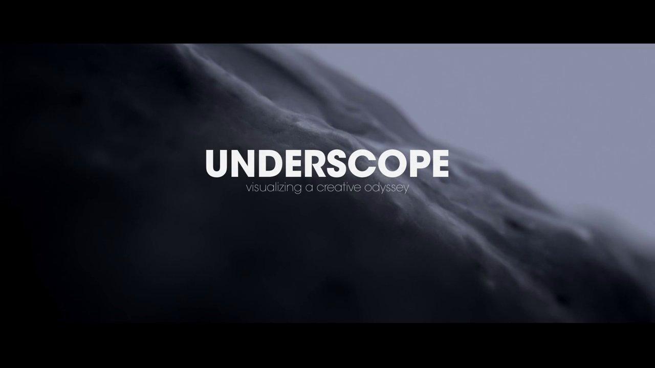 "Underscope ""Visualizing a Creative Odyssey � URIAH WHITE"