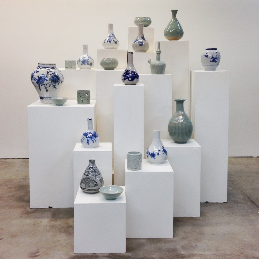 In the Fall of 2015, all of the students were tasked with creating exact replicas of pots found in the Korean collection at the Asian Art Museum in San Francisco.