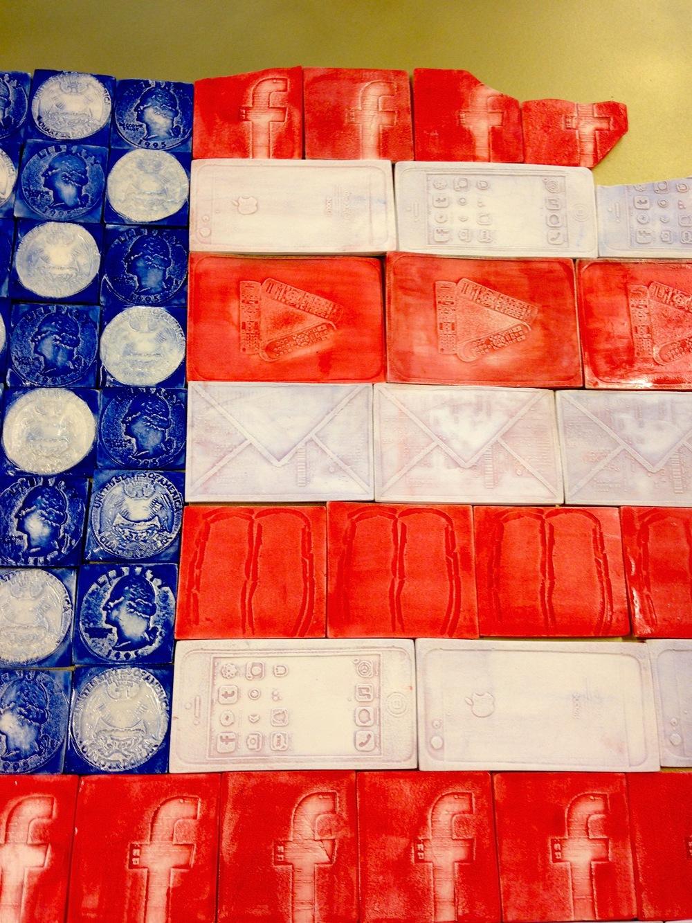 Americanism, 2014 (detail)