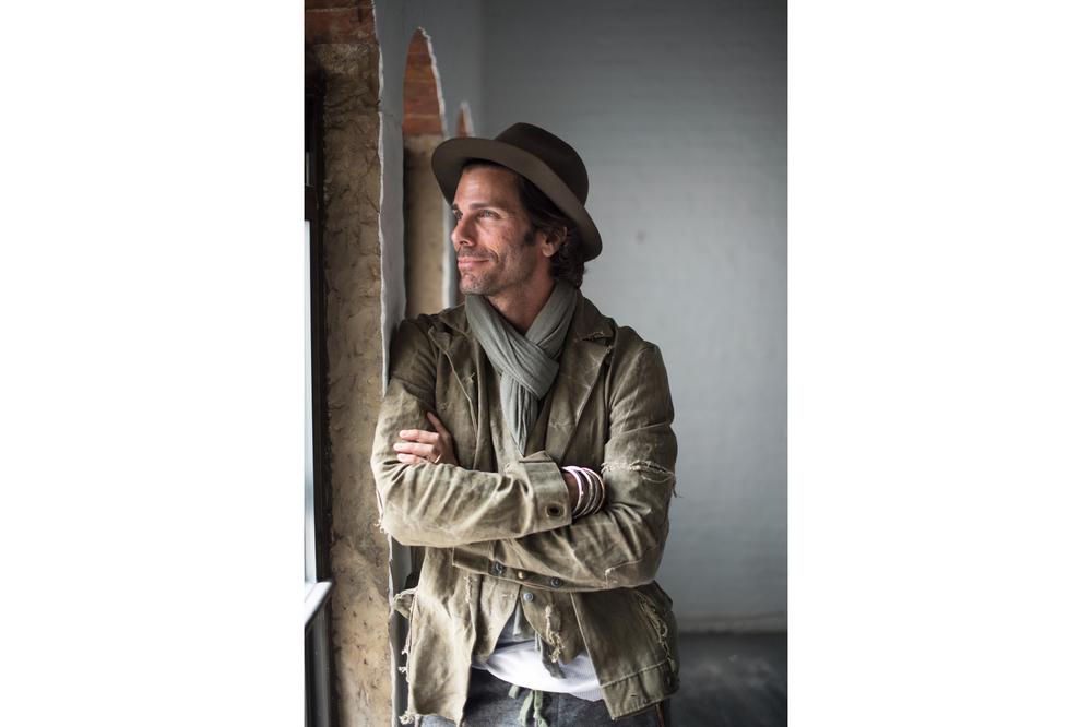 Greg Lauren, photographed for GQ, New York, 2015