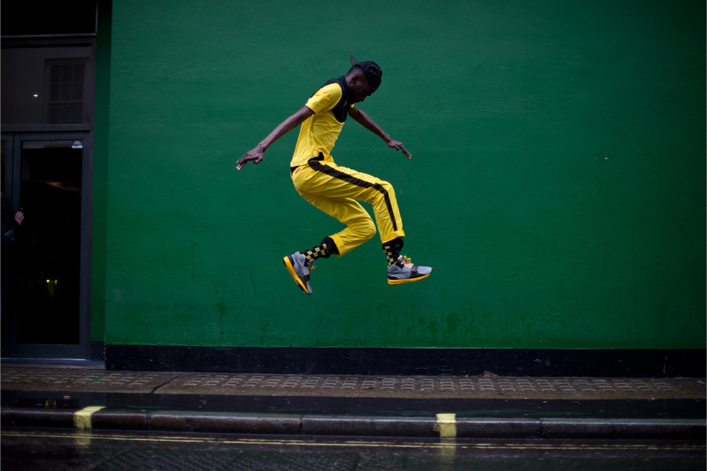 Photographed for Puma's Olympic Campaign, London, 2012