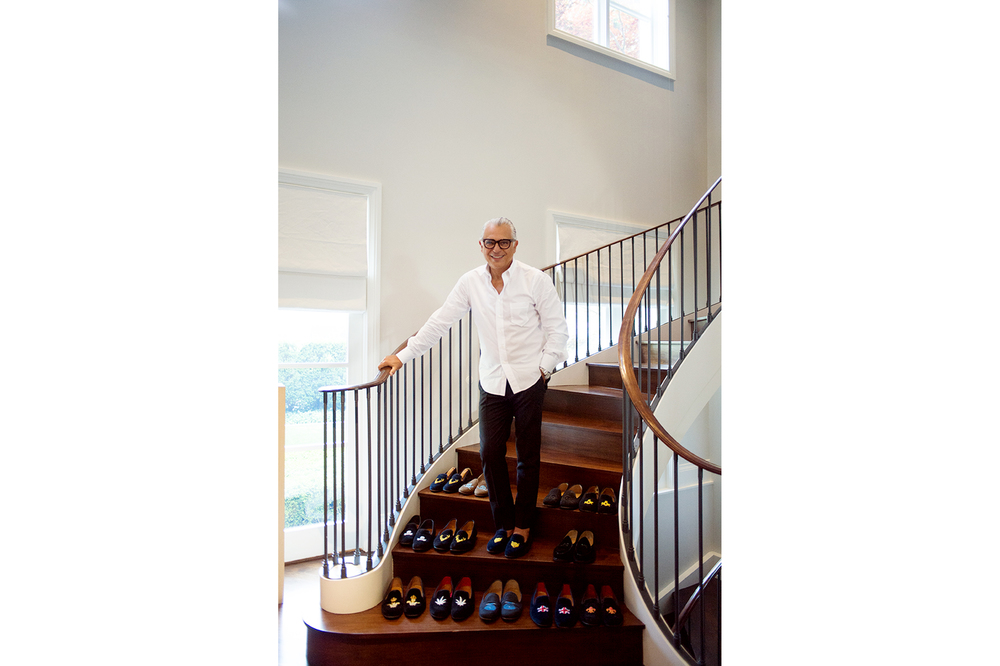 Joe Mimran, photographed for Sharp Magazine, 2014