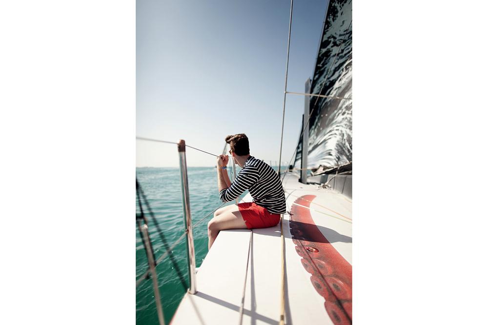James, photographed for Puma Sailing, Abu Dhabi, 2013