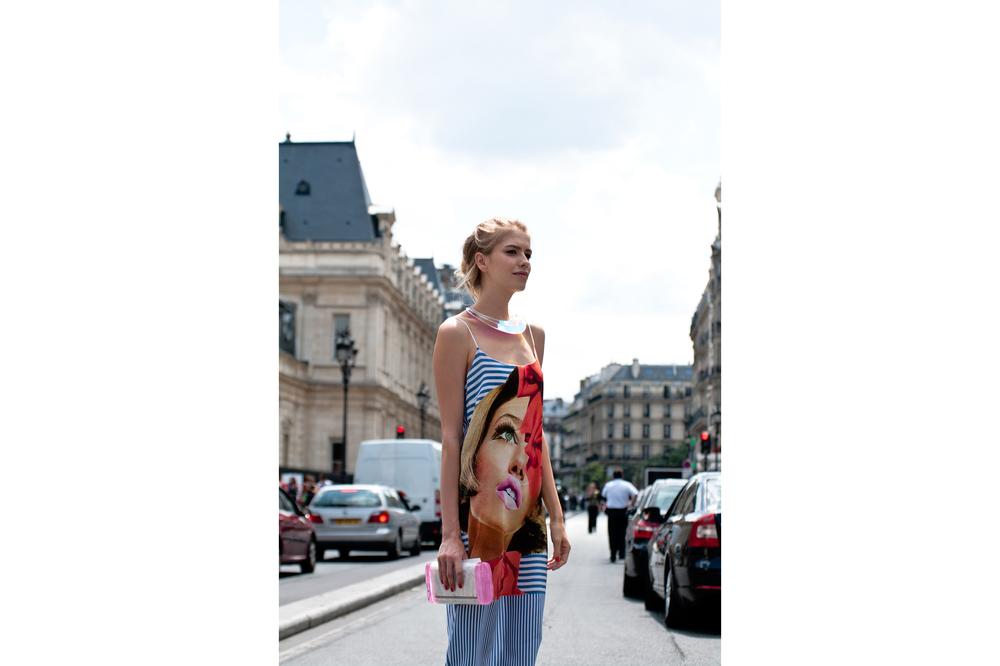 Elena Perminova, Paris, 2013