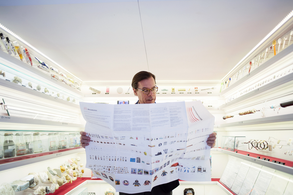 Andy Spade, photographed for Details, New York, 2015