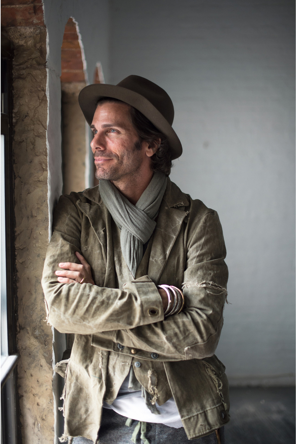 Greg Lauren, PHOTOGRAPHED FOR GQ, NEW YORK, 2014