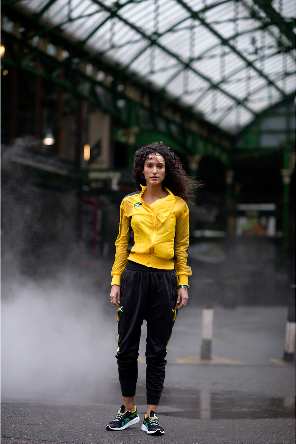 SYANNE, PHOTOGRAPHED FOR PUMA, LONDON, 2013