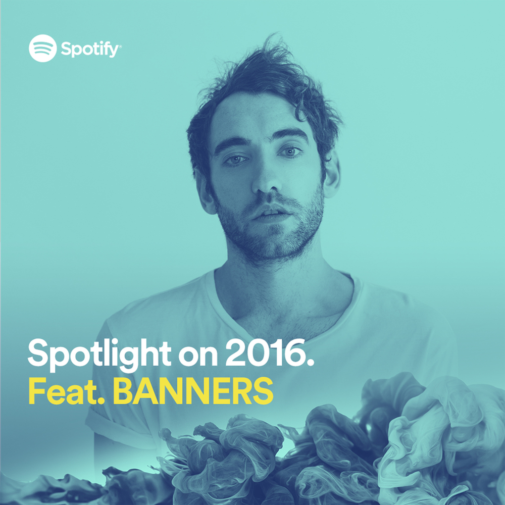Mike Nelson aka BANNERS, Photographed for Spotify, Toronto, 2015
