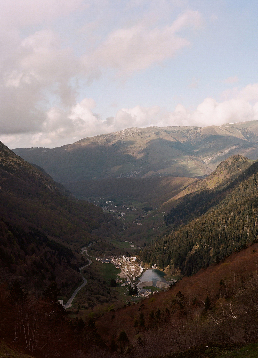 Last town in France before the Spanish border, Pyrenees, 2014