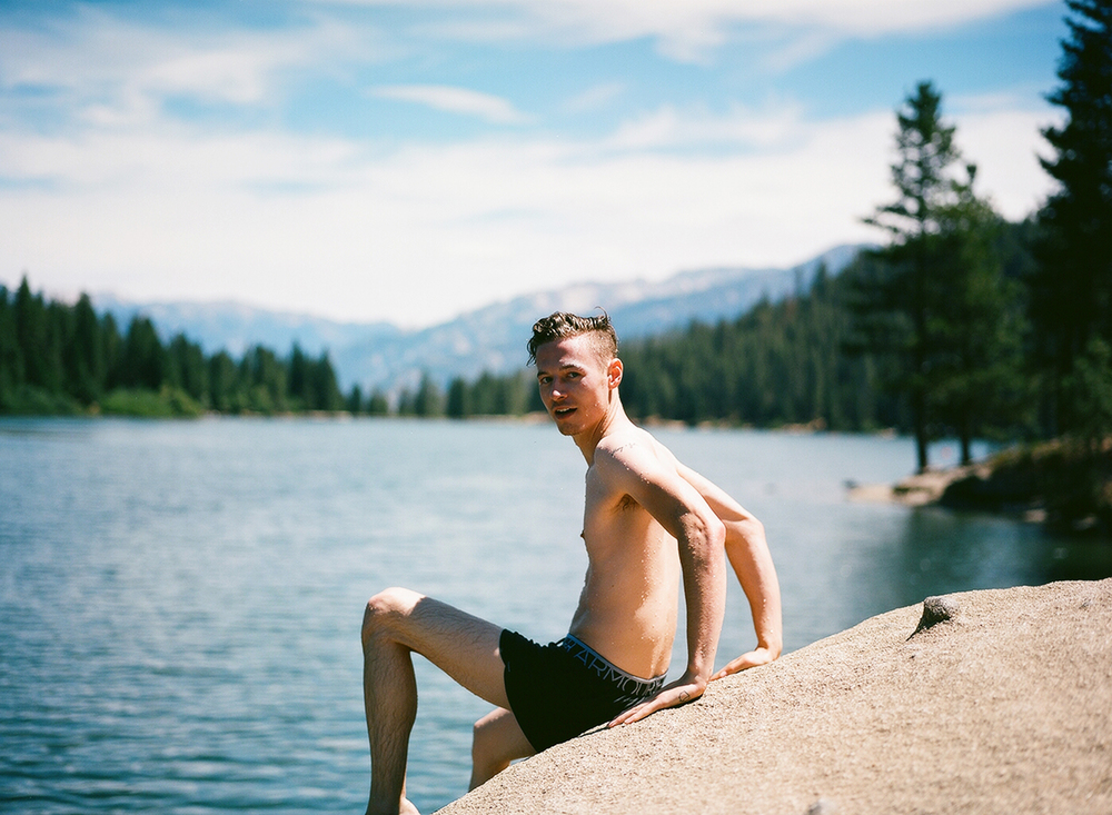 Scott in Yosemite, California, 2015