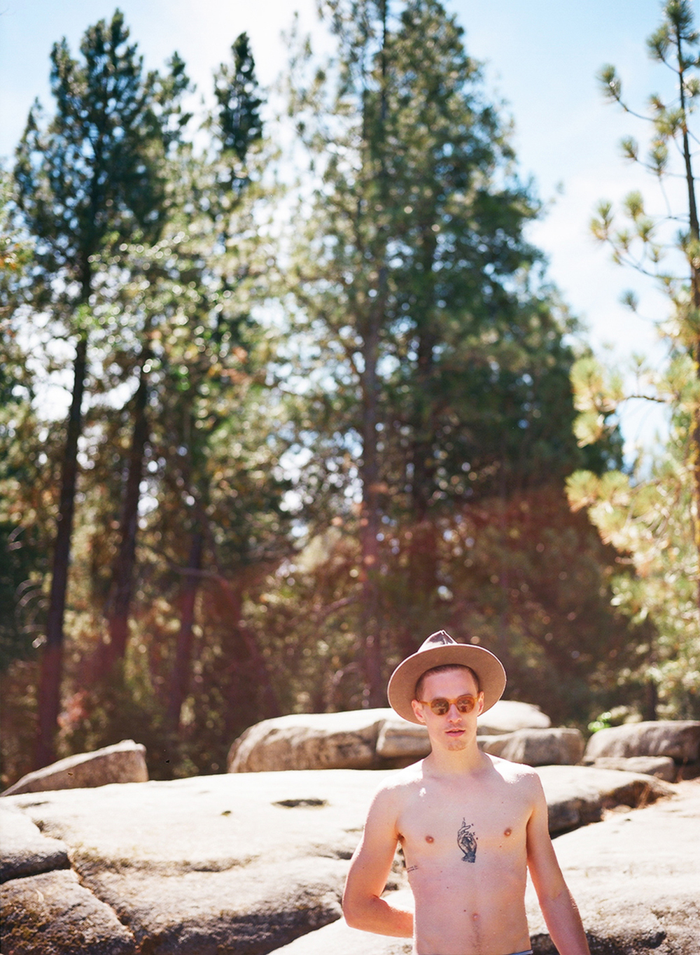 Scott in Kings Canyon, California, 2013