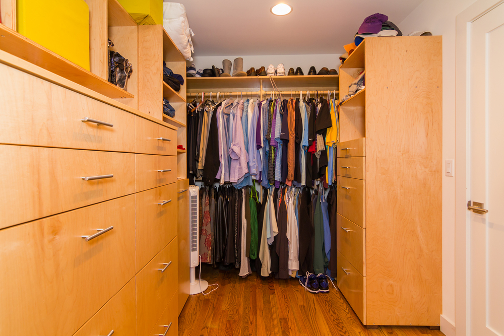 Custom built-ins for new master closet