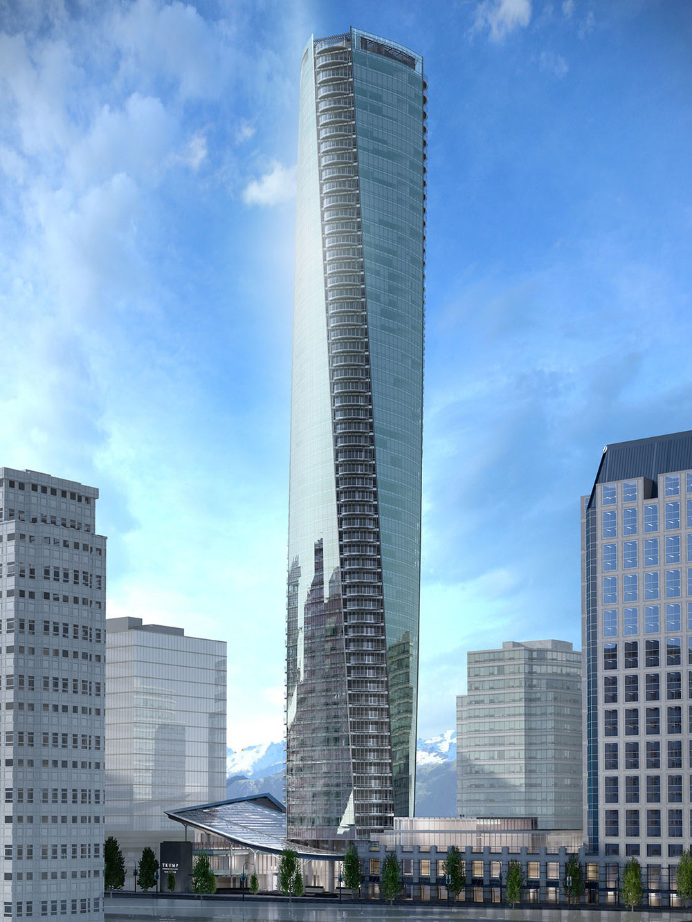 Trump Tower - Vancouver